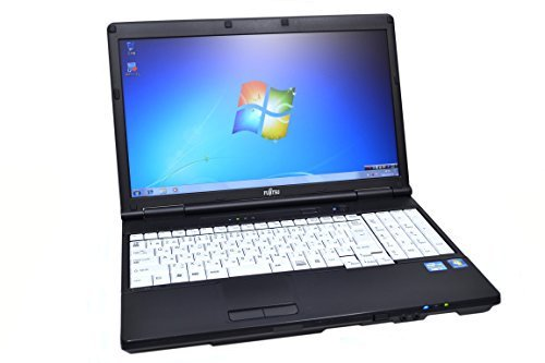 B#【中古】15.6型HD ノートパソコン 富士通 LIFEBOOK A561/C Core i3 2310M(2.10GHz) メモリ4G DVD-ROM Windows7 64b…