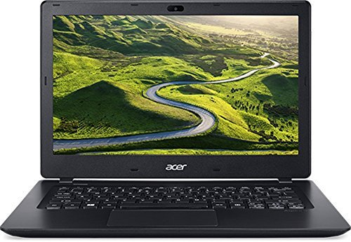B#【中古】Acer Aspire V3 13.3型 ノートパソコン ブラック 【 KingSoftOffice2013 Standard / Win10 Home 64bit Core i3-…