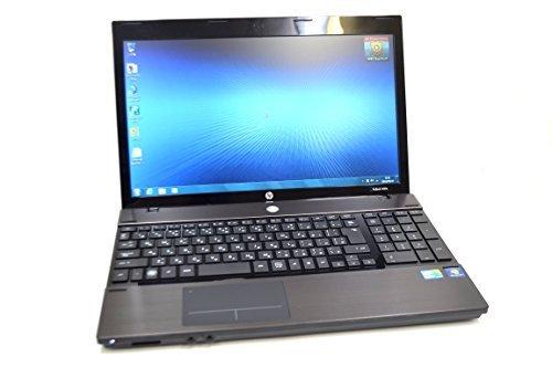 B#【中古】美品 ノートパソコン HP ProBook 4520s Core i5 480M(2.66GHz) メモリ4GB DVDマルチ 無線LAN Windows7 15.6型ワ…
