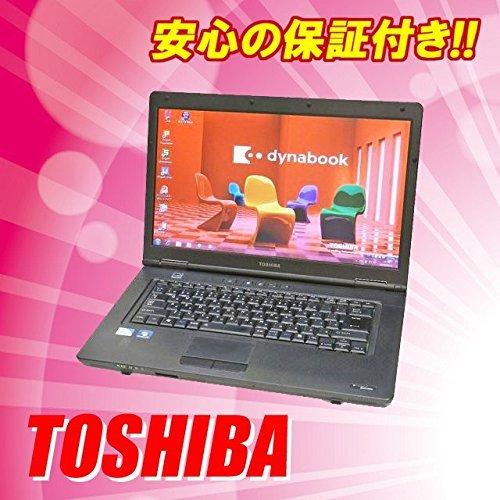 B#【中古】パソコン 東芝 dynabook Satellite B451/D Windows7-64bit15.6インチ液晶(1366×768)CPU:Celeron