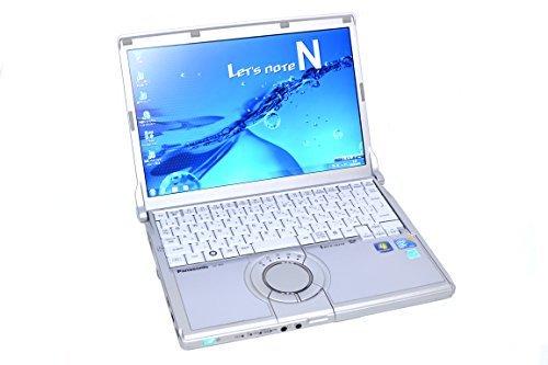 B#【中古】軽量モバイルノートパソコン Panasonic レッツノート CF-N9 Core i5 (2.66GHz) メモリ4G HDD250G 無線LAN Windows7 64b…
