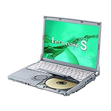 B#【中古】軽量モバイルノートパソコン Panasonic レッツノート CF-S9 Core i5 (2.40GHz) メモリ4G HDD250G 無線LAN DVDスーパーマルチ Windo…