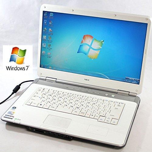 B#【中古】 ノートパソコン 15インチ液晶 NEC LL730/T 【Windows7 搭載】【無線LAN内蔵】【Core2Duo搭載】【メモリー4GB搭…