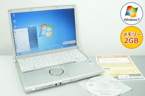 B#【中古】パナソニック(Panasonic) 【パソコン】ノートパソコン Panasonic レッツノート CF-N9 Core i5-2.40GHz 2GB 250GB Winodws7搭載…