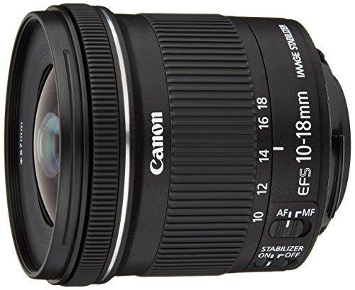 M#【中古】Canon 超広角ズームレンズ EF-S10-18mm F4.5-5.6 IS STM APS-C対応 EF-S10-18ISSTM
