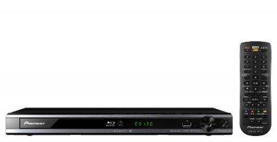 Pioneer ブルーレイディスクプレーヤー アップスケーリング機能搭載 ブラック BDP-3130-K【中古品】