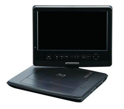 グリーンハウス 10.1型ワイド液晶 ポータブルブルーレイディスクプレーヤー ブラック GH-PBD10B-BK【中古品】