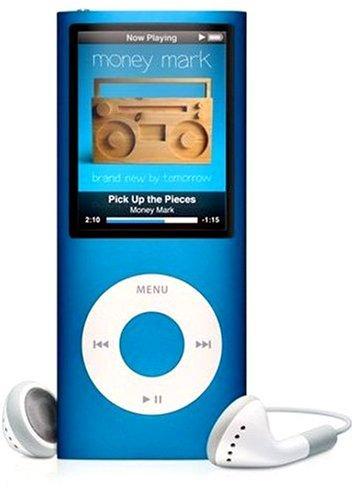 M#【中古】Apple iPod nano 8GB ブルー