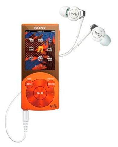 M#【中古】SONY ウォークマン Sシリーズ [メモリータイプ] 16GB オレンジ NW-S645/D