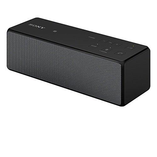 SONY ワイヤレスポータブルスピーカー Bluetooth対応 ブラック SRS-X33/B【中古品】