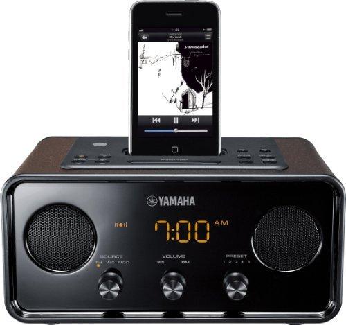 M#【中古】ヤマハ TSXシリーズ デスクトップオーディオシステム iPhone/iPod対応 ブラウン TSX-70(T)