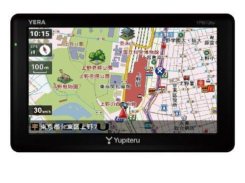 M#【中古】ユピテル 7.0v型ワンセグ内蔵ポータブルナビゲーション YPB708si