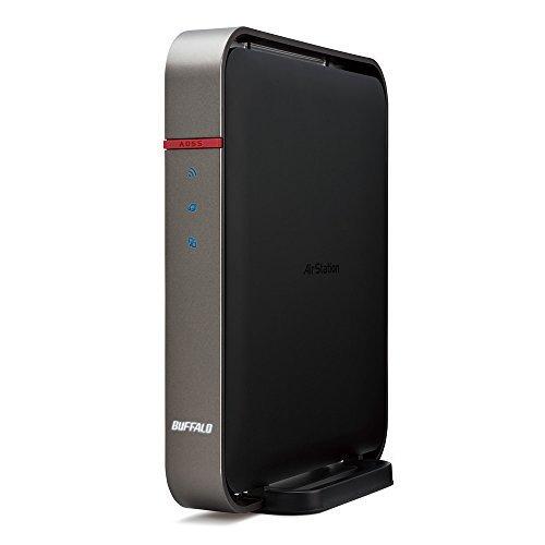 E#【中古】BUFFALO 11ac(Draft) 1300プラス450Mbps 無線LAN親機 WZR-1750DHP2