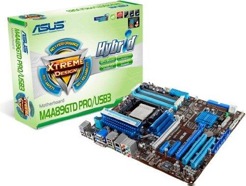 E#【中古】ASUSTek マザーボード AMD SocketAM3/DDR3メモリ対応 ATX M4A89GTD PRO/USB3