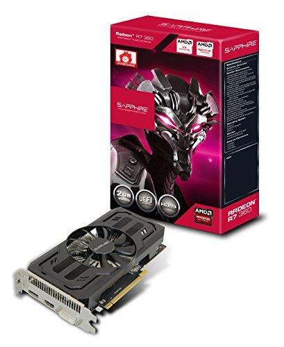 E#【中古】Sapphire R7 360 2G GDDR5 PCI-E H/DI/DP グラフィックスボード VD5759 SA-R7360-2GD5R01