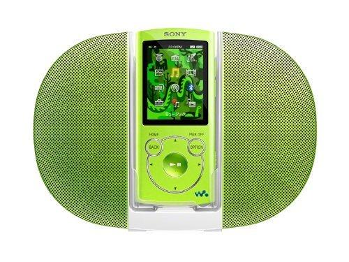 E#【中古】SONY ウォークマン Sシリーズ [メモリータイプ] スピーカー付 16GB グリーン NW-S765K/G