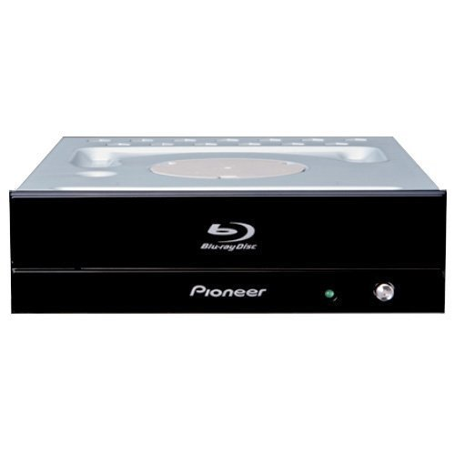E#【中古】パイオニア BDXL対応 SATA内蔵BD/DVD/CDライター ピアノブラック(つやあり) BDR-S07J-BK