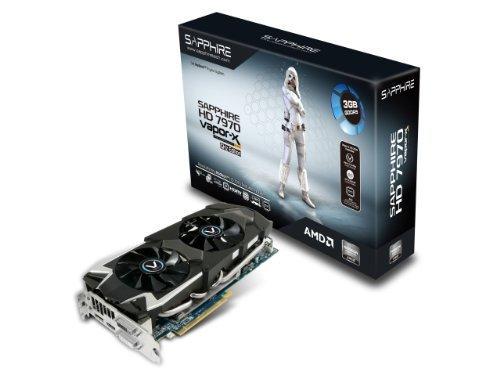 E#【中古】SAPPHIRE Radeon HD7970 GHz Edition搭載ビデオカード VAPOR-X HD7970 GHZ EDITION 3G GDDR5 日本正規代理店品 111…