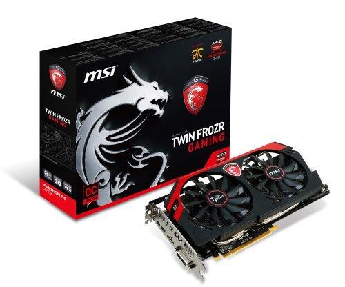 E#【中古】MSI R9 280X Twin Frozr 4S OC グラフィックスボード Radeon R9 280X 3GB 日本正規代理店品 VD5168 R9 280X Twin Fro…