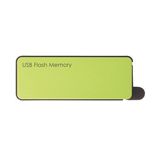 E#【中古】BUFFALO オートリターン機能 USB3.0 マカロンデザインUSBメモリー 32GB グリーン RUF3-PW32G-GR