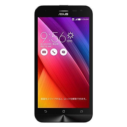 E#【中古】エイスース SIMフリースマートフォン ZenFone 2 Laser(Qualcomm Snapdragon 410/メモリ 2GB)16GB ホワイト ZE500KL-WH…