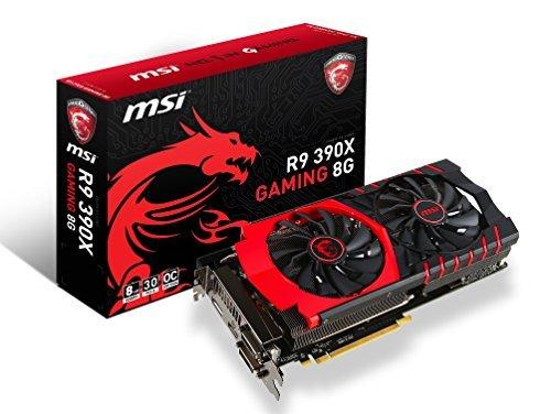 E#【中古】MSI R9 390X GAMING 8G グラフィックスボード VD5760 R9 390X GAMING 8G