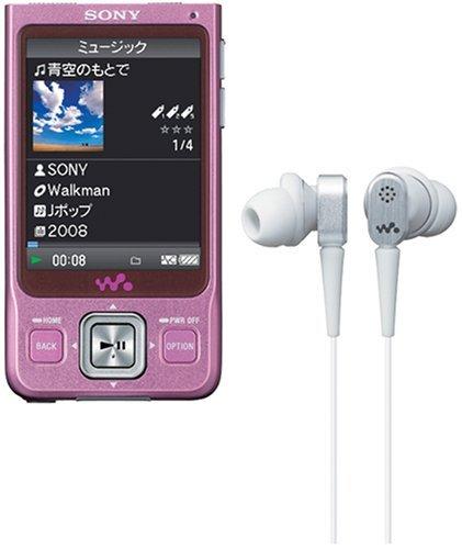 E#【中古】SONY ウォークマン Aシリーズ ワンセグ内蔵 4GB ピンク NW-A916 P