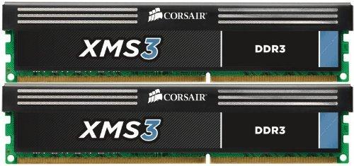 E#【中古】CORSAIR Memory Module DDR3 デスクトップ XMS Series 4GB×2kit CMX8GX3M2A1333C9