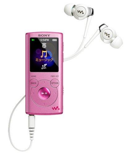 E#【中古】SONY ウォークマン Eシリーズ [メモリータイプ] 4GB ピンク NW-E053/P
