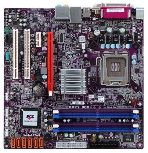 E#【中古】KEIAN ECS MicroATX MB G45チップセット G45T-M2(1.0)