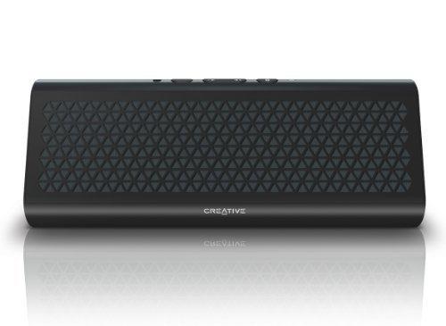 E#【中古】【iPhone、iPad、Android搭載スマートフォン対応、NFC対応】 Creative Airwave HD ブラック Bluetooth ワイヤレススピーカー SP-AWH…