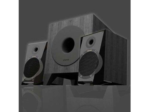 P#【中古】KEIAN KRATOR 高音質 14W 2.1chスピーカー USB給電 N6-21U14