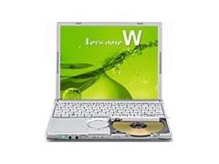 B#【中古】ノートパソコン レッツノート パナソニック CF-W9JWECPS【Windows7 Pro・MS互換オフィス付き】