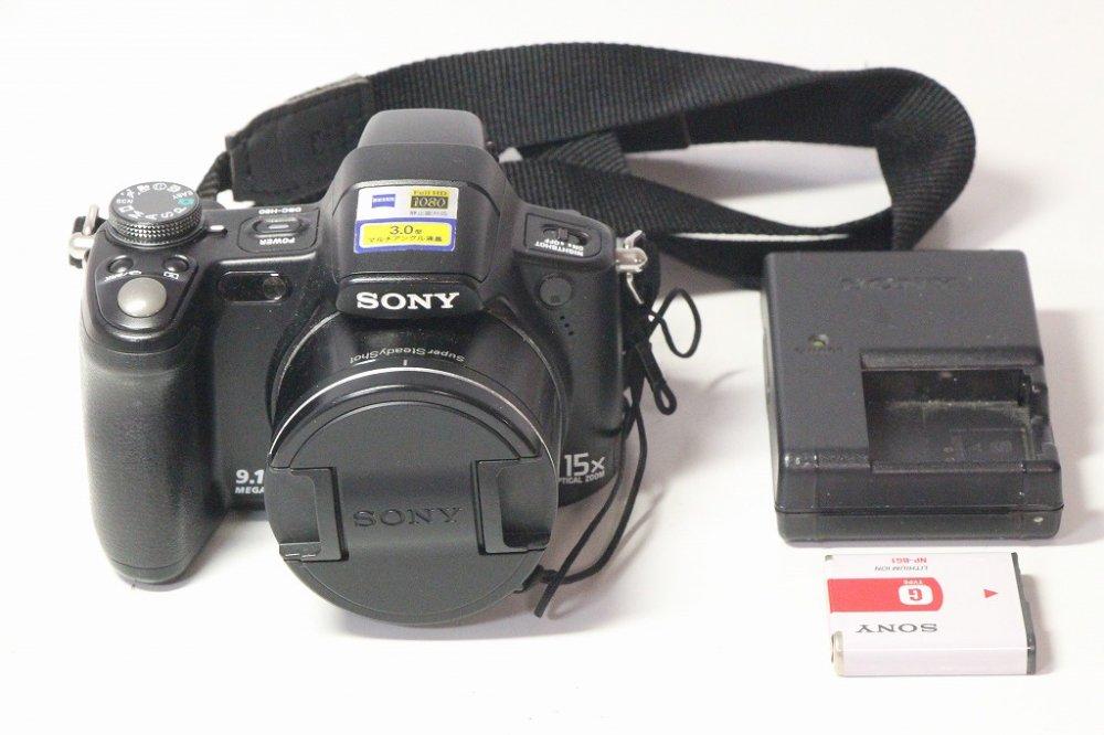 ソニー SONY デジタルカメラ Cybershot H50 (910万画素/光学x15/デジタルx30/ブラック) DSC-H50 B【中古…