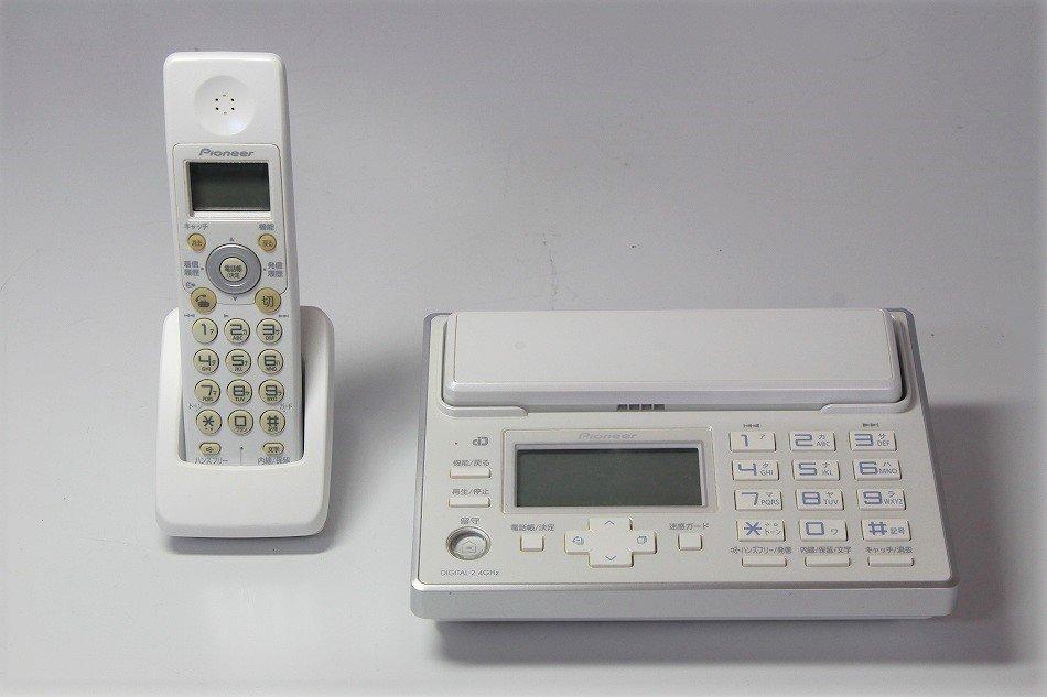 Pioneer デジタルコードレス電話機 子...