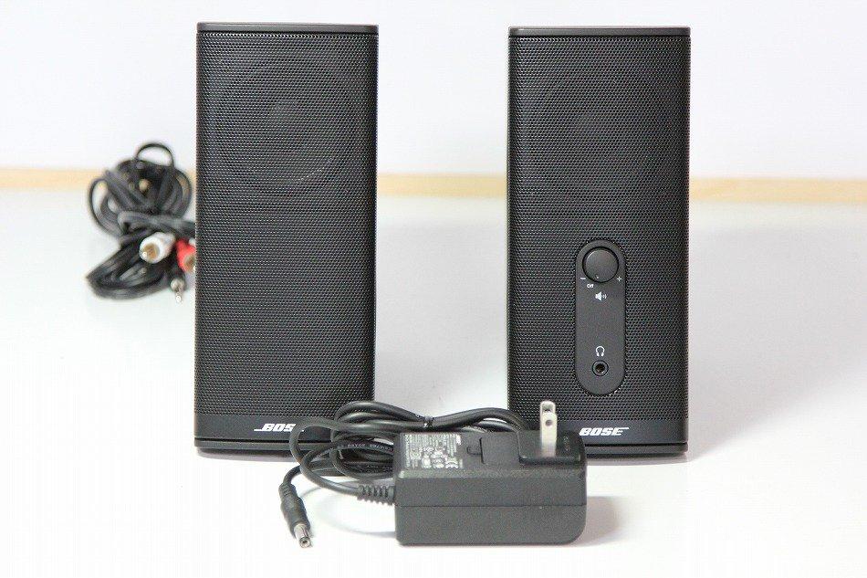 Bose Companion 2 Series II multimedia speaker system : PCスピーカー ブラック 【中古品】