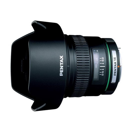 PENTAX 超広角単焦点レンズ DA14mmF2.8ED[IF] Kマウント APS-Cサイズ 21510【!中古品!】