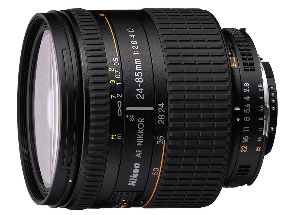 Nikon 標準ズームレンズ Ai AF NIKKOR 24-85mm f2.8-4D IF フルサイズ対応【!中古品!】