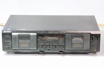 SONY TC-WE435 ツインリバースカセットデッキ【整備品】