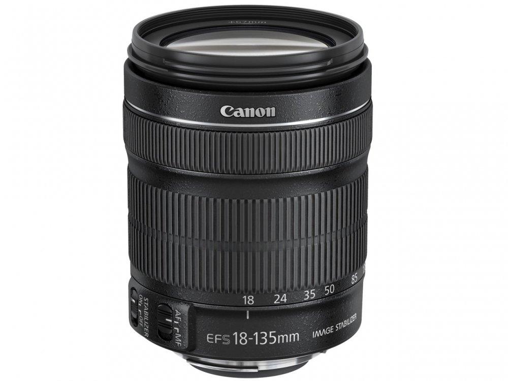 Canon 標準ズームレンズ EF-S18-135mm F3.5-5.6 IS STM APS-C対応【中古品】
