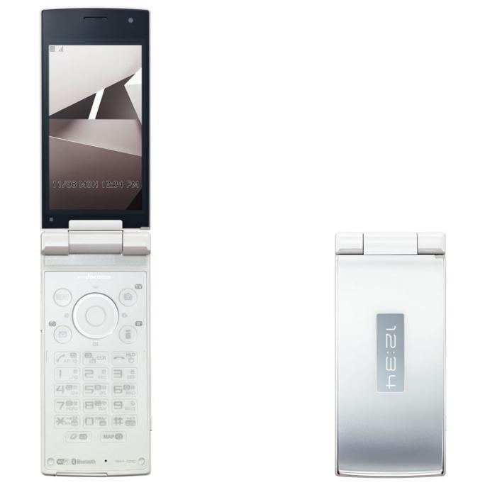 シャープ SH-01C ホワイト  携帯電話 白ロム ドコモ docomo【!中古品!】