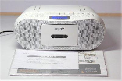 CD ラジオカセットコーダー CFD-S50【中古品】