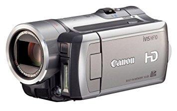 Canon フルハイビジョンビデオカメラ iVIS (アイビス) HF10 iVIS HF10 (内蔵メモリ16GB+SDカード)【!中古品…