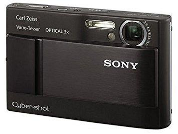 ソニー SONY デジタルカメラ サイバーショット DSC-T10 ブラック【!中古品!】
