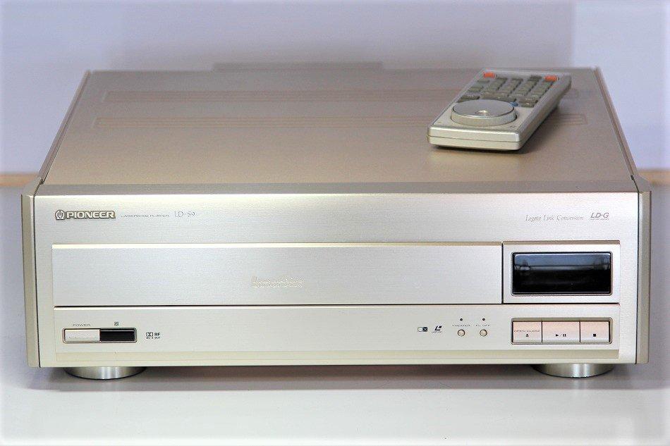 Pioneer LD-S9 LDプレーヤー 【中古整備...