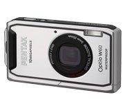 PENTAX デジタルカメラ OPTIO (オプティオ) W60 シルバー 【!中古品!】