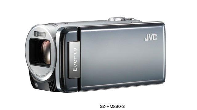 JVCケンウッド JVC 64GBハイビジョンメモリームービー シルバー GZ-HM890-S 【!中古品!】