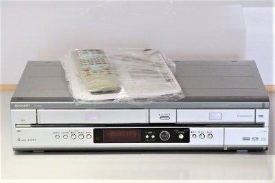 シャープ ビデオ一体型DVDレコーダー DV-RW65 【中古品】