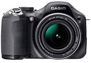 CASIO デジタルカメラ HIGH SPEED EXILIM EX-FH20 900万画素 光学20倍ズーム 超高速連写 EX-FH20BK 【!中古品…