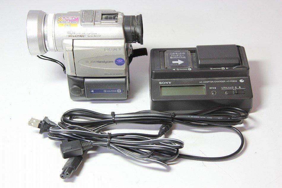 SONY DCR-PC100 デジタルビデオカメラ miniDV【中古品】
